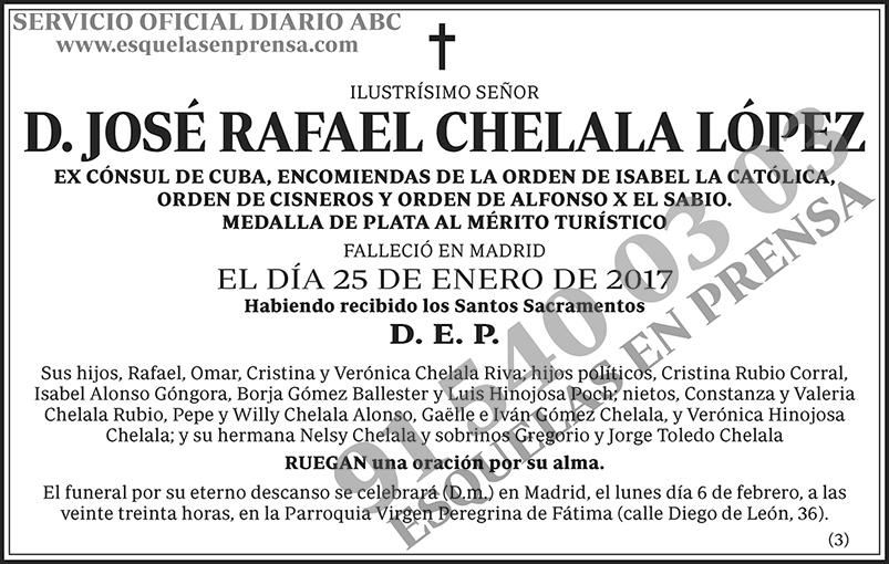 José Rafael Chelala López